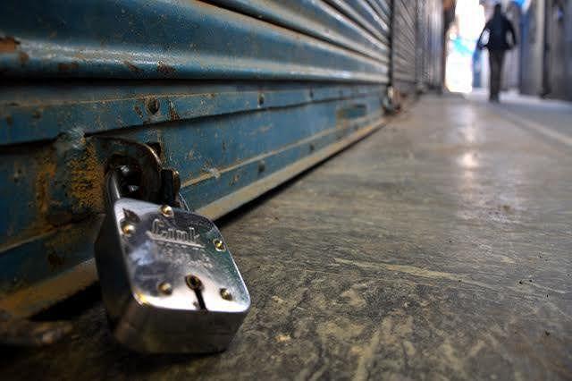 Shutdown in Pampore against militant killing