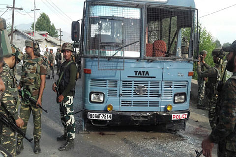 Pampore attack: Two militants killed, 7 CRPF men injured, two critical