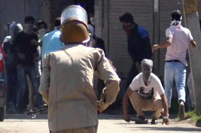 Protests Erupt In Old Srinagar