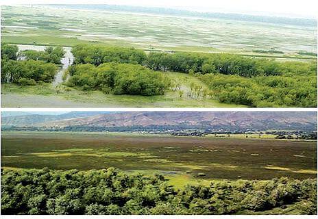 Slow pace of Wullar conservation work irks CM Mehbooba