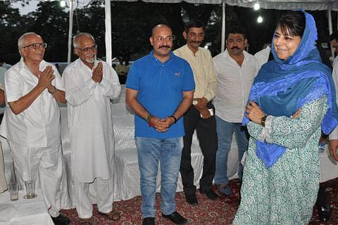 CM Mehbooba Mufti hosts Iftaar in Jammu