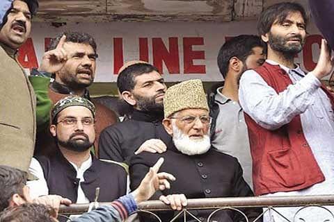 Geelani, Malik, Mirwaiz call for shutdown today