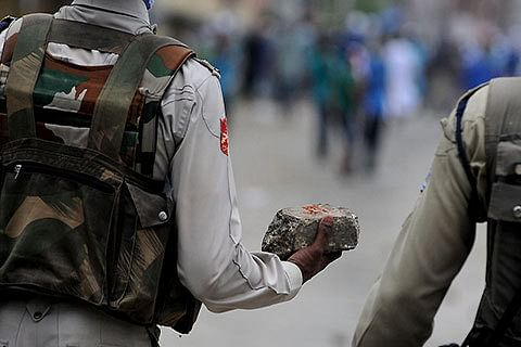 Violence erupts in Kashmir, BJP office in Kulgam attacked
