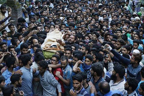 Four youths killed, several injured in forces firing in south Kashmir