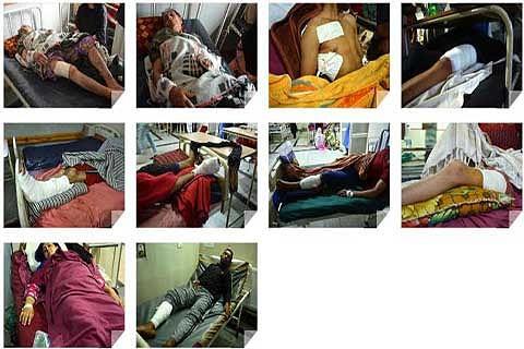 Jama'at members visit hospitals, meet injured