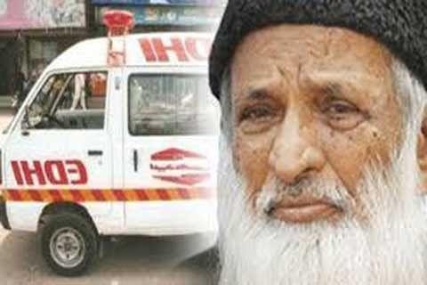 Edhi- A Great humanitarian