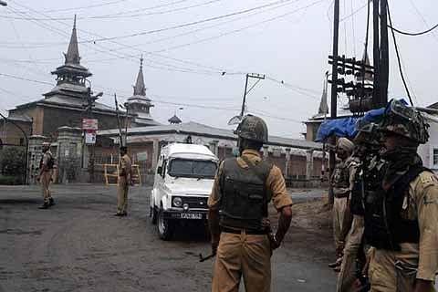 Jamia Masjid locked