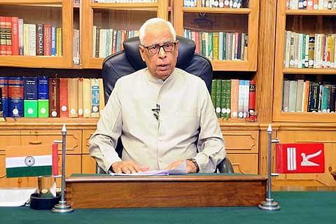 Madhav calls on Governor