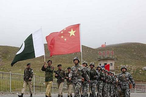 Chinese, Pak troops launch 1st joint border patrols