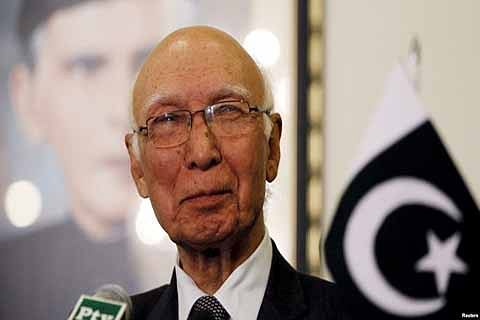 Pak will ask UNHRC to probe Valley unrest: Aziz
