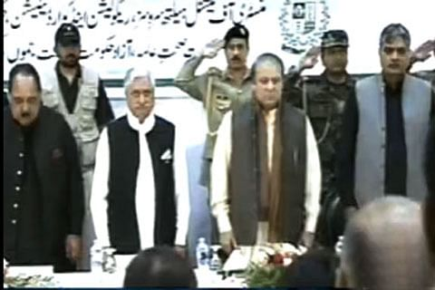 Waiting for the day Kashmir joins Pakistan: Sharif