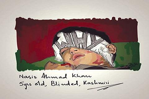Portraying unrest in Kashmir through medium of art