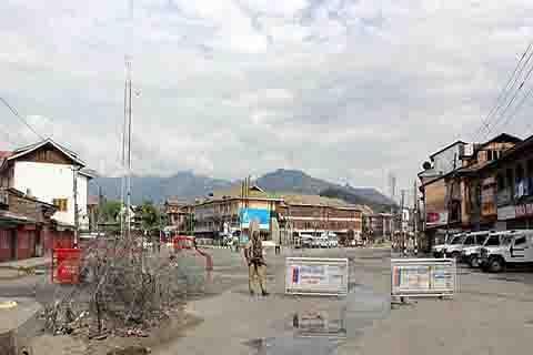 Srinagar's old city under siege