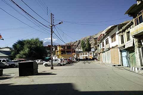 Kargil shuts against Kashmir killings
