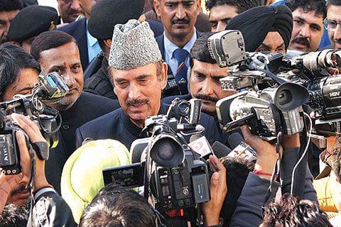 Azad seeks end to use of pellet guns