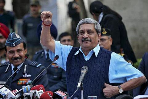 Doing our job, let MHA decide on AFSPA removal: Parrikar
