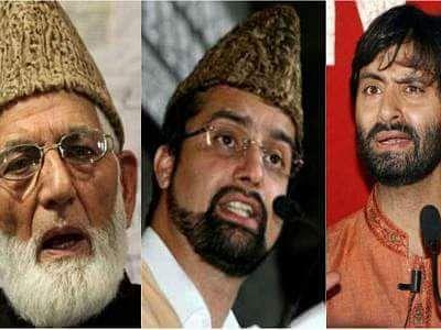 Geelani, Mirwaiz, Malik appeal Govt employees, ors to help daily wagers