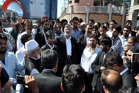 Rajnath Singh's Kashmir visit eyewash: HCBA