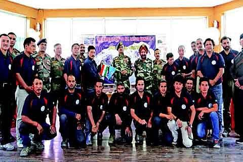IMF Mount Saser Kangri expedition flagged off