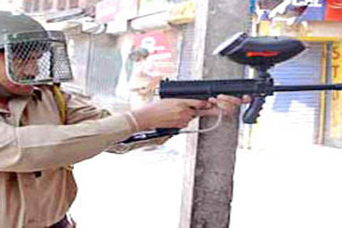 No directions to stop pellets, says CRPF