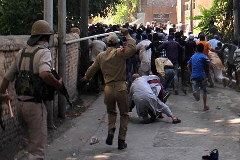Clashes, protests rock Sopore, Kupwara