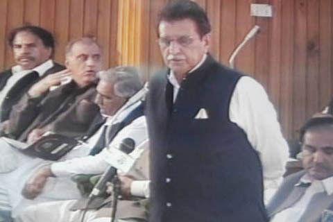 Raja Farooq Haider Khan is new PaK PM
