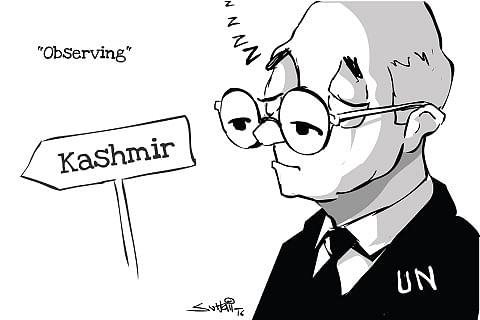 Cartoon By Suhail Naqashbandhi