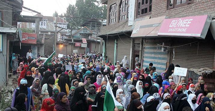 Women march against killings