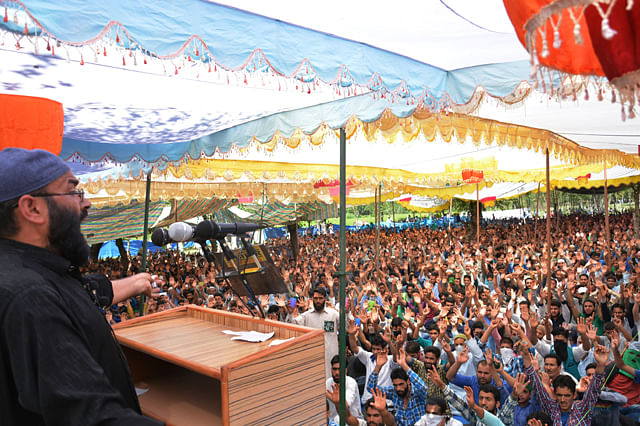 Massive Pro-Freedom Rally In Anantnag