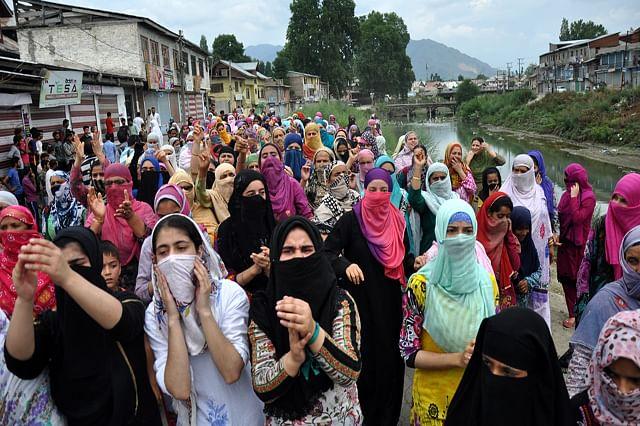 Women Protest Against Civilian Killings