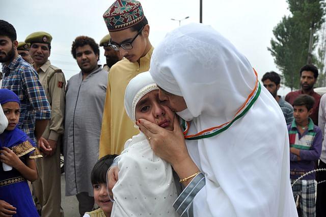 Emotional Scenes As Kashmir Hajj Pilgrims Leave For Mecca