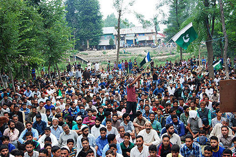 Militants at Kaimoh rally: 'Don't betray us, we have left comfort zones'
