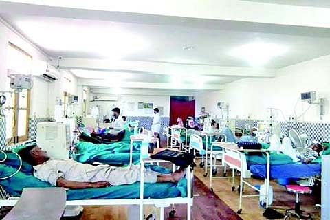 Father of 3 minors battles for life at SKIMS