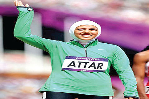 Saudi female runner breaks barriers in Rio marathon