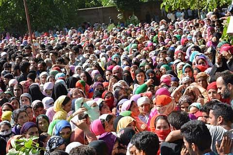 Thousands attend pro-freedom rally at Arwani