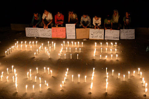 Kashmir Unrest: Candle-light vigil, night protests in Kupwara
