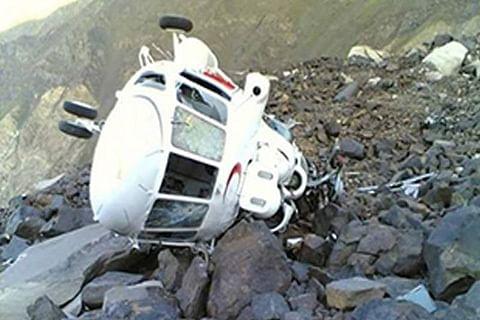 Pakistani copter crash-lands in Afghanistan, crew unhurt