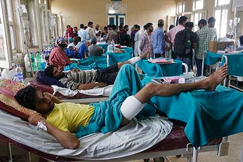 From July 9, over 5000 injured admitted in Kashmir hospitals