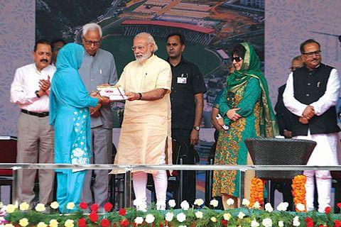 Modi's remarks on Kashmir situation draw mixed response