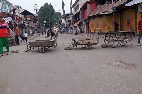 Kishtwar students protest against JU circular