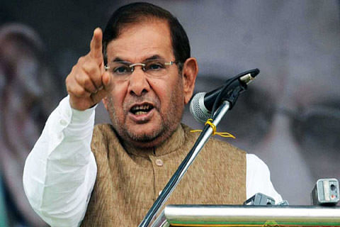 Need to think of alternative to pellet guns, says Sharad Yadav in Parliament