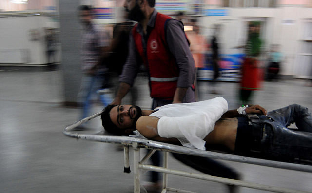 Youth hit by teargas shell in Sogam, shifted to Srinagar