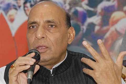 Rajnath reviews Kashmir situation