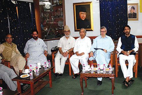 BJP slams Omar for leading 'opposition meet'