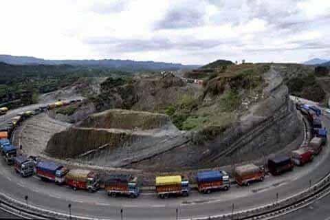 Truckers' strike brings supply of essentials to halt