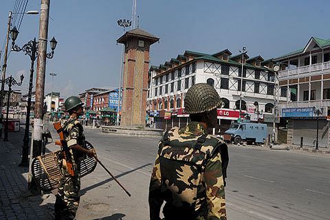 Forces restrict vehicular movement to Lal Chowk