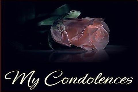 PDP Sonawar MLA bereaved
