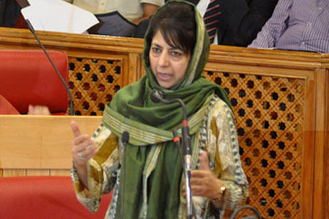 """Handful of """"vested interests"""" inciting trouble in Kashmir: Mehbooba"""