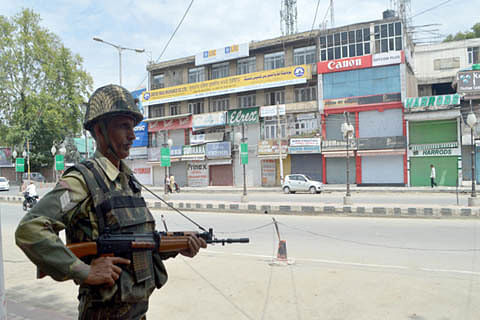 BSF troops deployed in Kashmir after 12 years