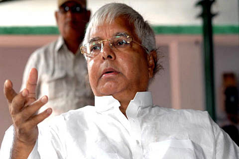 Situation in Kashmir slipping out of control: Lalu